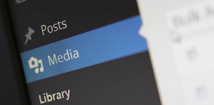 subir imágenes temporales para wordpress