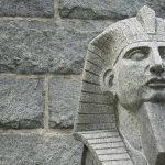 ejemplo de hieratismo egipcio