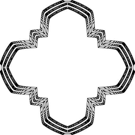 planta de cruz griega