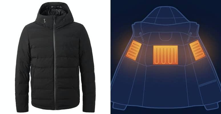chaqueta calefactable xiaomi vancl